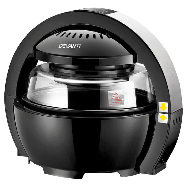 Black Devanti Air Fryer - Store 84