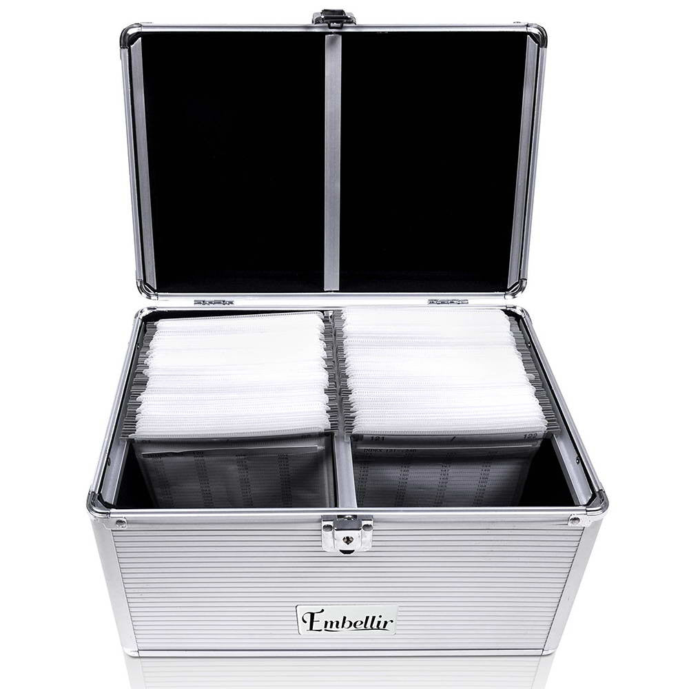 ... Small CD / DVD Aluminium Storage Box Case - Store 84 ...  sc 1 st  Store 84 & Small CD / DVD Aluminium Storage Box Case u2013 Store 84