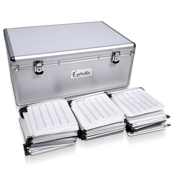 Medium CD / DVD Aluminium Storage Box Case - Store 84