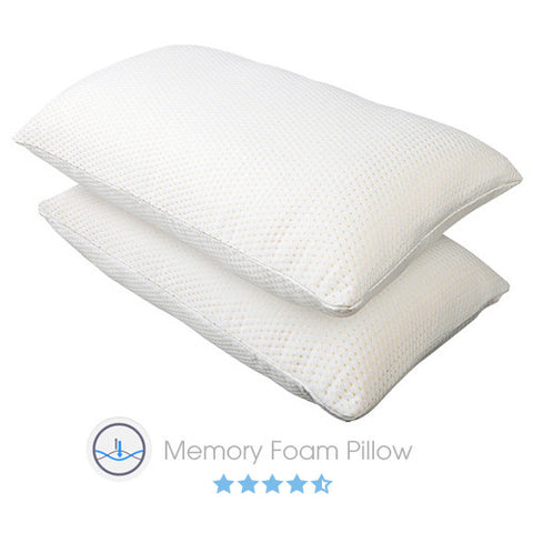 2 x Luxury Memory Foam Pillows - Store 84