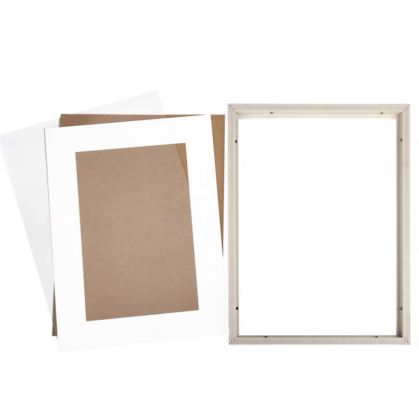 3 x White A3 Photo Frame Set - Store 84