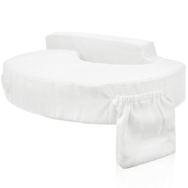 White Nursing Breastfeeding Memory Foam Pillow - Store 84
