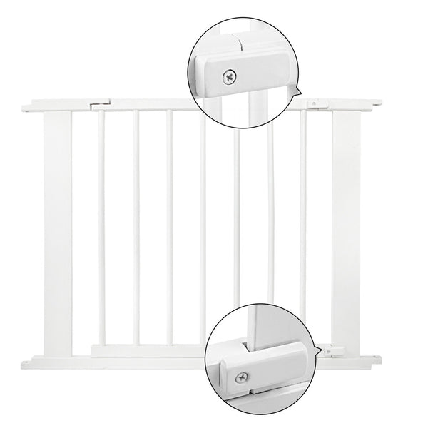 White Wooden 8 Panel Playpen - Store 84