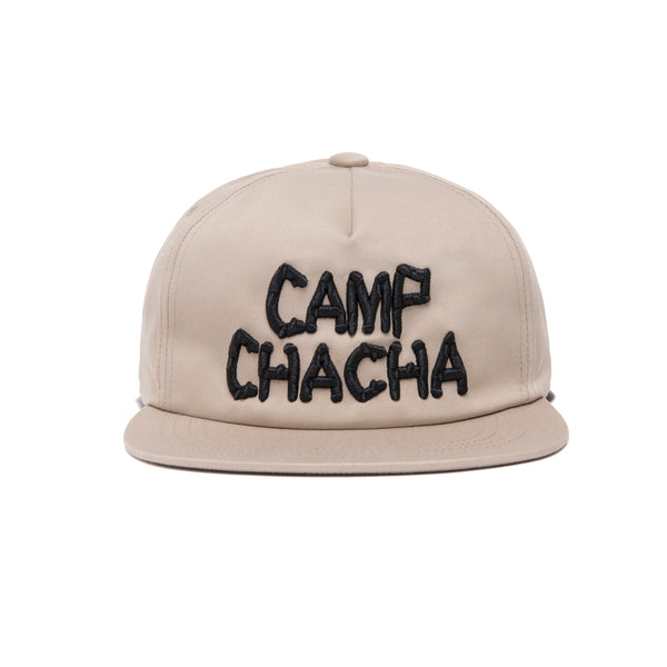 CAMP CHACHA SNAPBACK- Brown