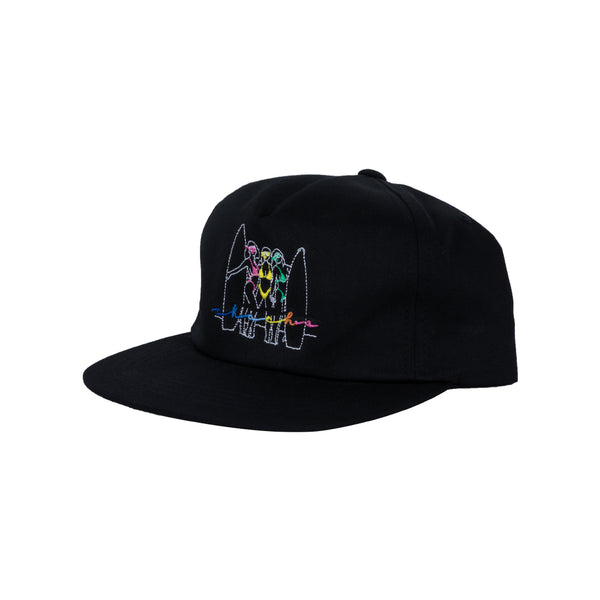 Beach Babes Snap Back - Black