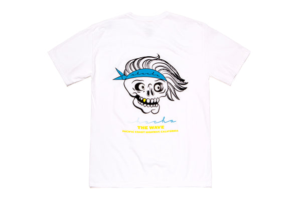 Surf Dude Pocket Tee - White