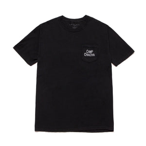 CAMP CHACHA POCKET TEE- Black