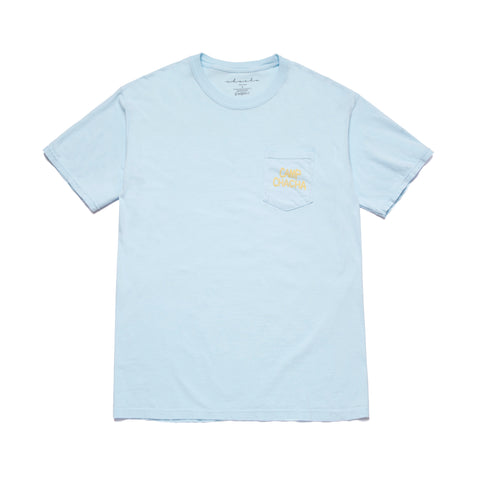 CAMP CHACHA POCKET TEE- Blue