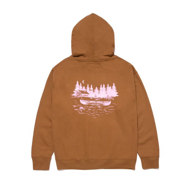 CAMP CHACHA HOODIE- Brown