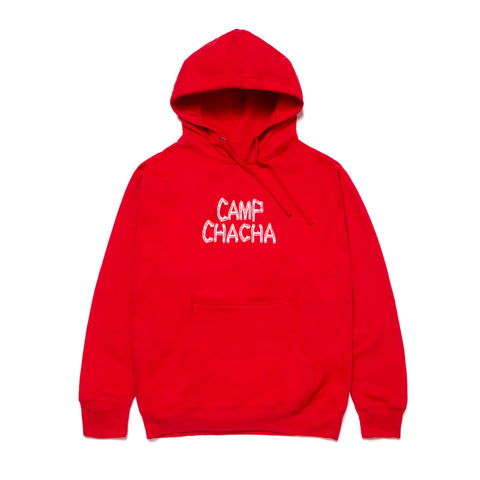 CAMP CHACHA HOODIE- Red