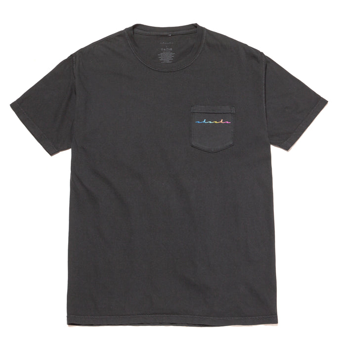 Beach Babes Pocket Tee - Black