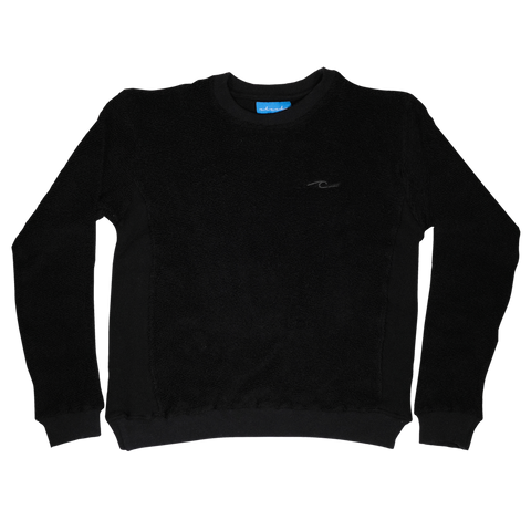 Tonal Terry Crewneck (Black)