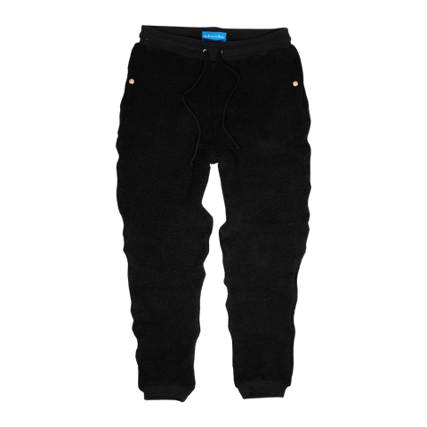 Tonal Terry Sweatpants (Black)