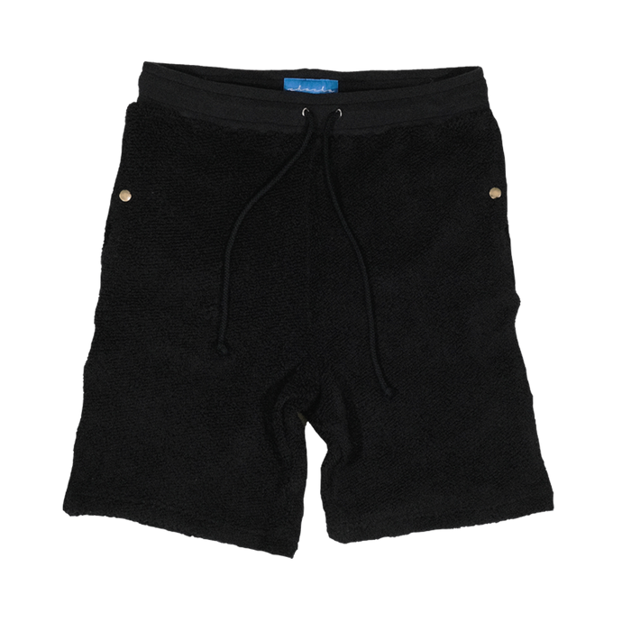 Tonal Terry Shorts (Black)