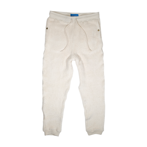 Tonal Terry Sweatpants (Sand)