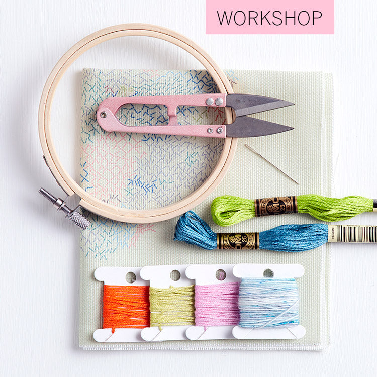embroidery workshop kit belinda marshall