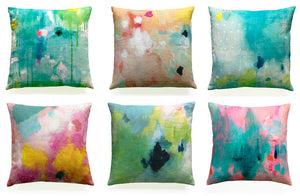 cotton/linen cushion