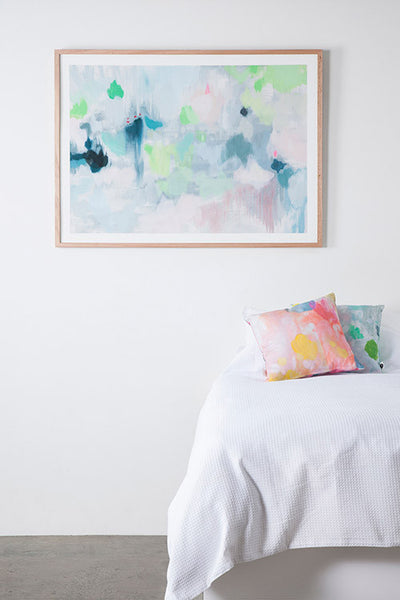 framed fine art print insitu giclee belinda marshall lifted