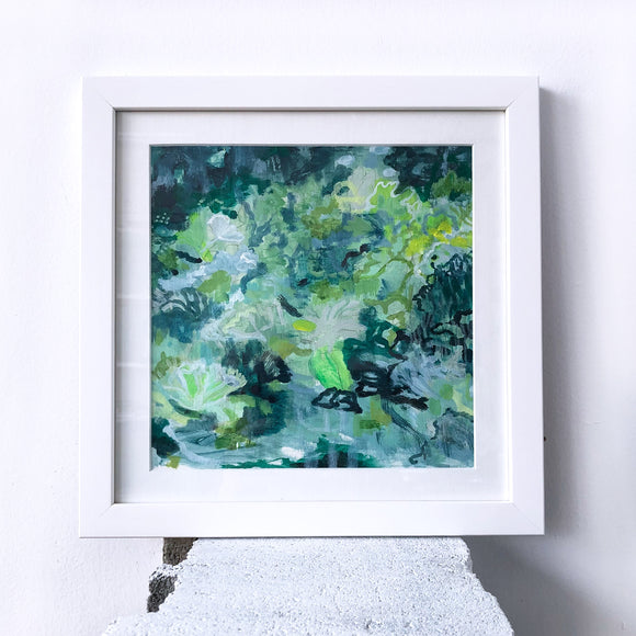 Scape series 9 - ORIGINAL PAINTING - Framed