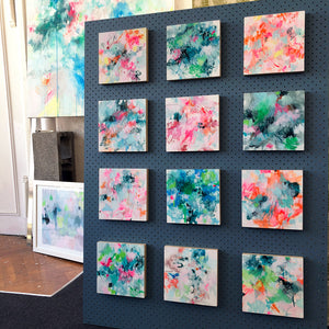 collection of small works art wall belinda marshall