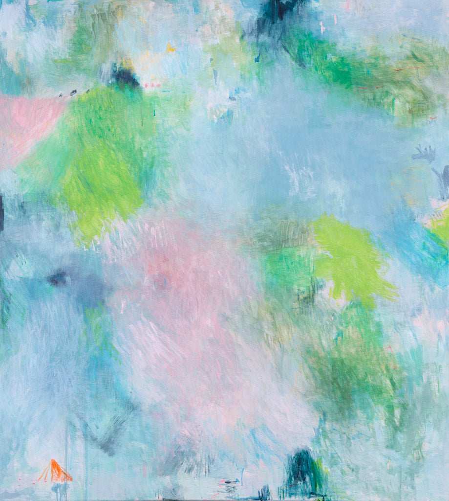 art print abstract expressionist pastel belinda marshall