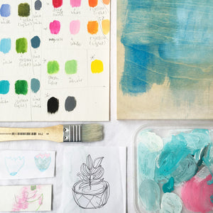 acrylic painting workshop for beginners {melbourne}