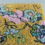 Original embroidery artwork 'Yellow Venus'