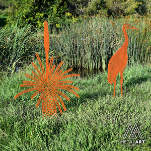 Grass Tree (Xanthorrhoea) - Laser Cut Garden Art