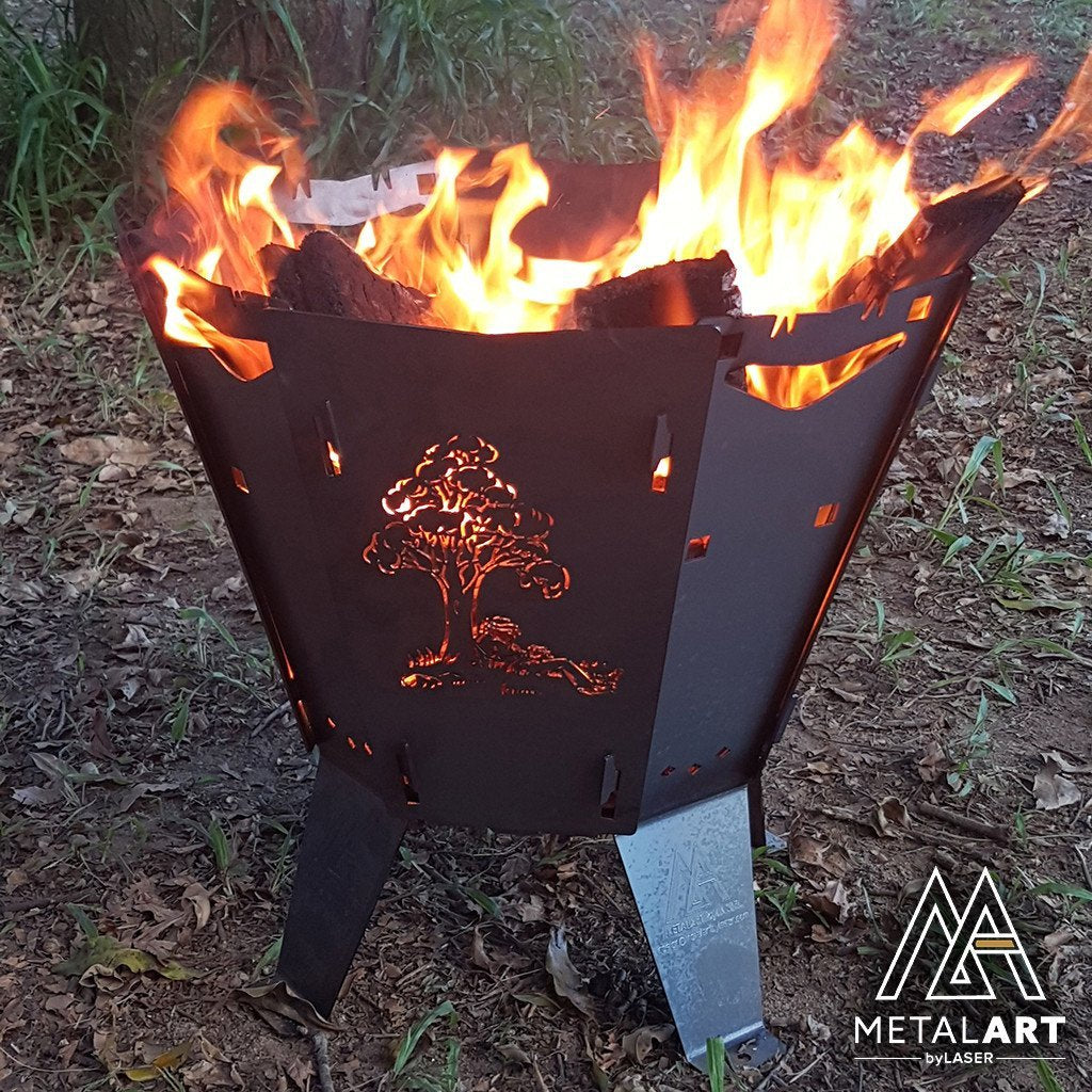 Nomad - Custom Firepit Design