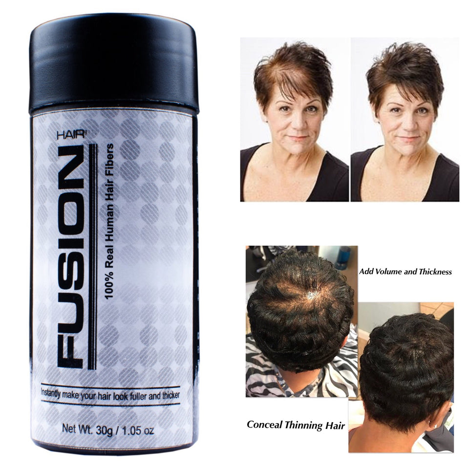 Real Hair Fusion Hair Fiber Travel Size