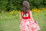 Charlie Dress: Old Glory Forth of July Dress