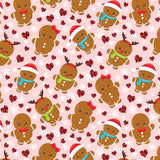 Christmas Pajama's - Gingerbread Cookies