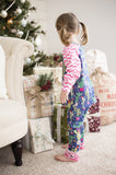Ruffle Christmas winter pajamas