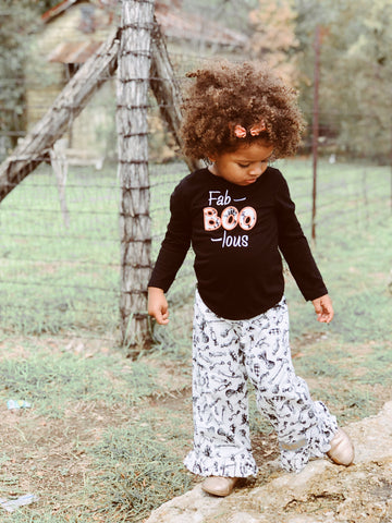 Fab-BOO-Lous Halloween Candy Pants & Shirt