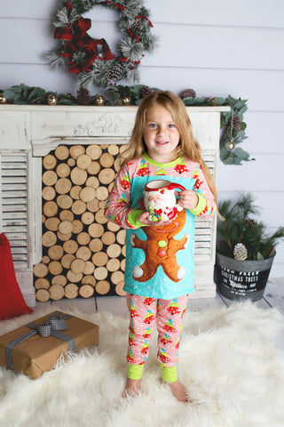 Pink Christmas Tree Pajamas