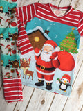 Christmas Pajama's - Santa's Elf Friends