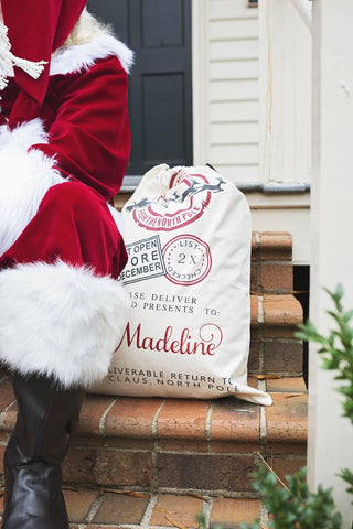Christmas Personalized Santa Sacks