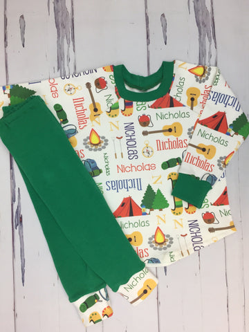Camping Personalized Outfit/PJs
