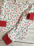 Christmas Pajamas - Candy Canes