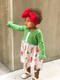 Oaklynn Dress: Personalized Christmas Camper Dress