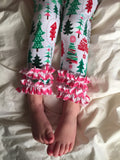 Christmas Pajamas - Pink Christmas Trees