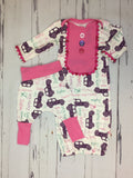 Personalized Gone Jeeping Gown Set