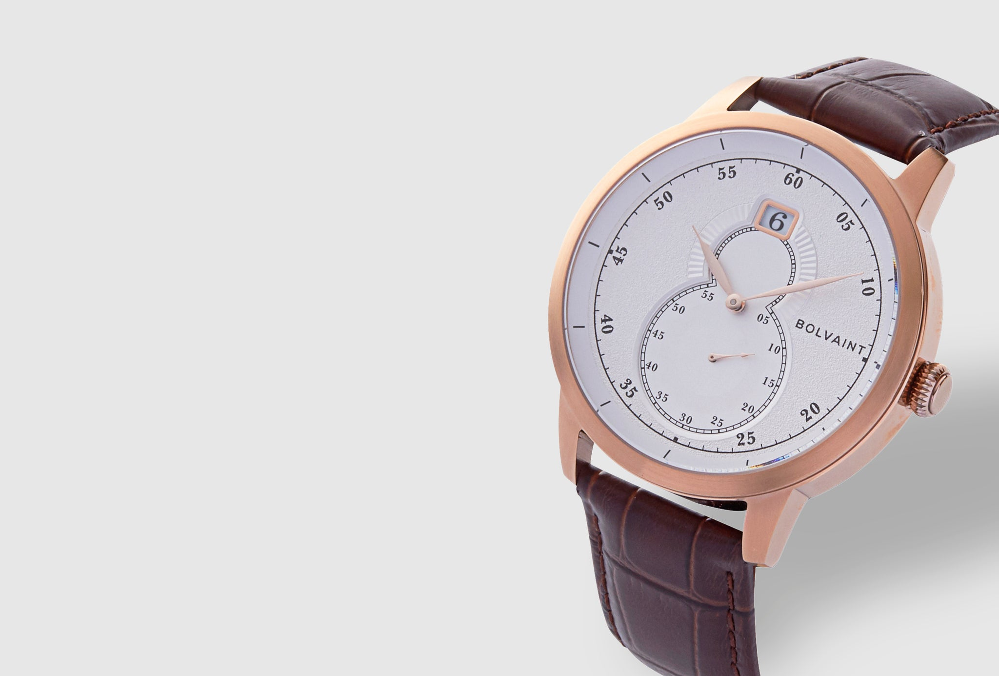 The Bolvaint Mallory Blanc in Rose Gold
