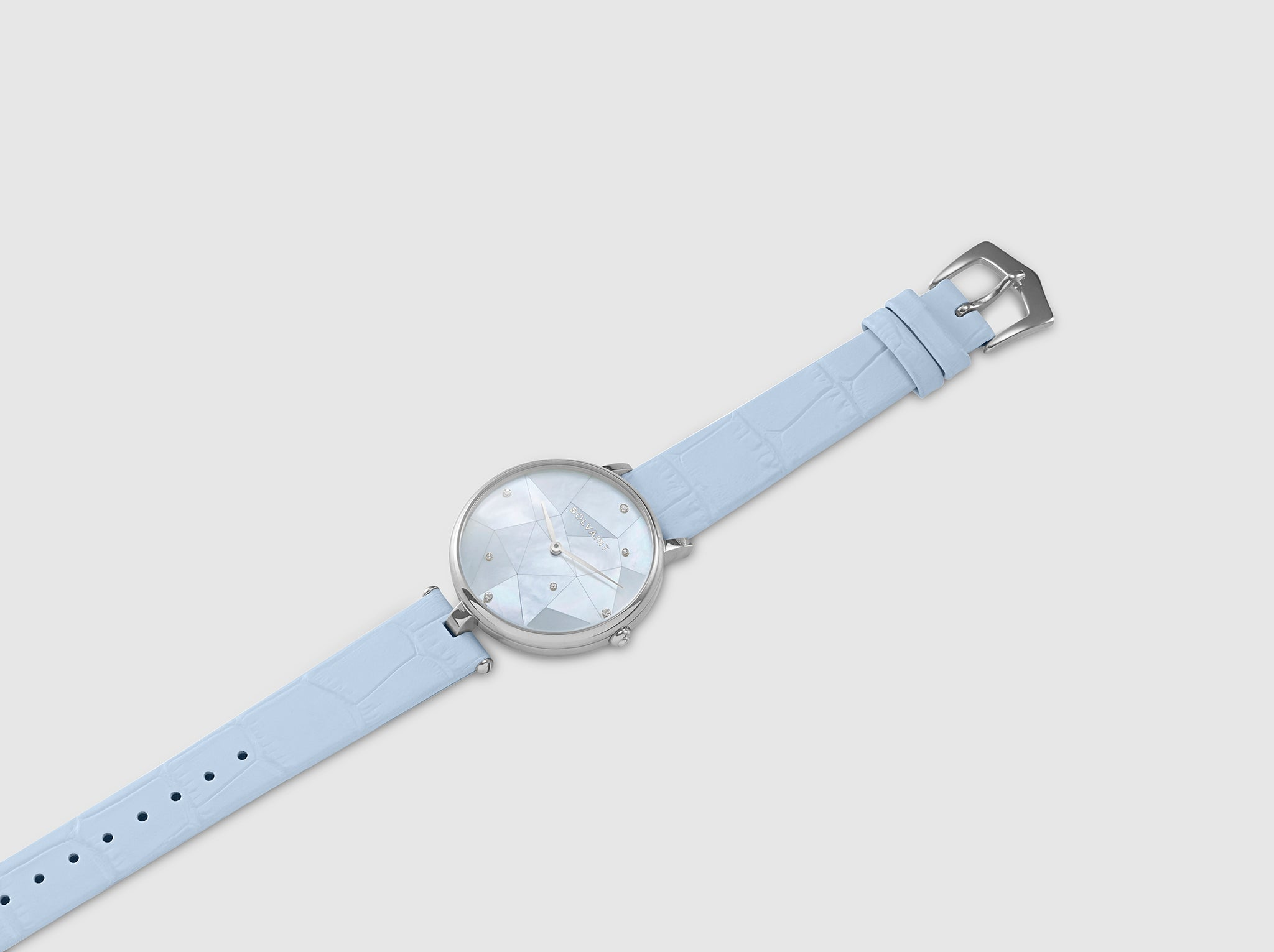 The Bolvaint Vainui Mother-of-Pearl Ladies' Watch – Silver & Apataki