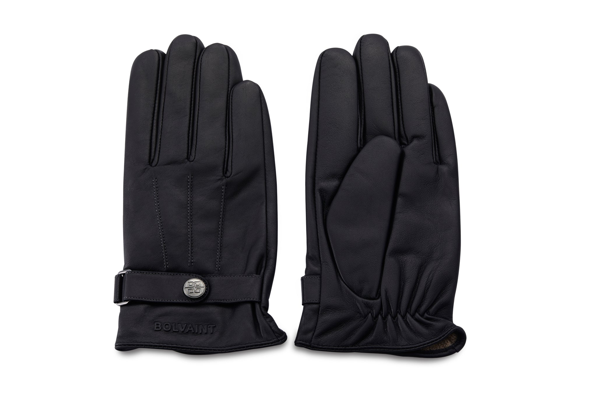 Bolvaint Acel Lambskin Gloves - Men's -100% Lambskin Outer and 100% Cashmere Lining