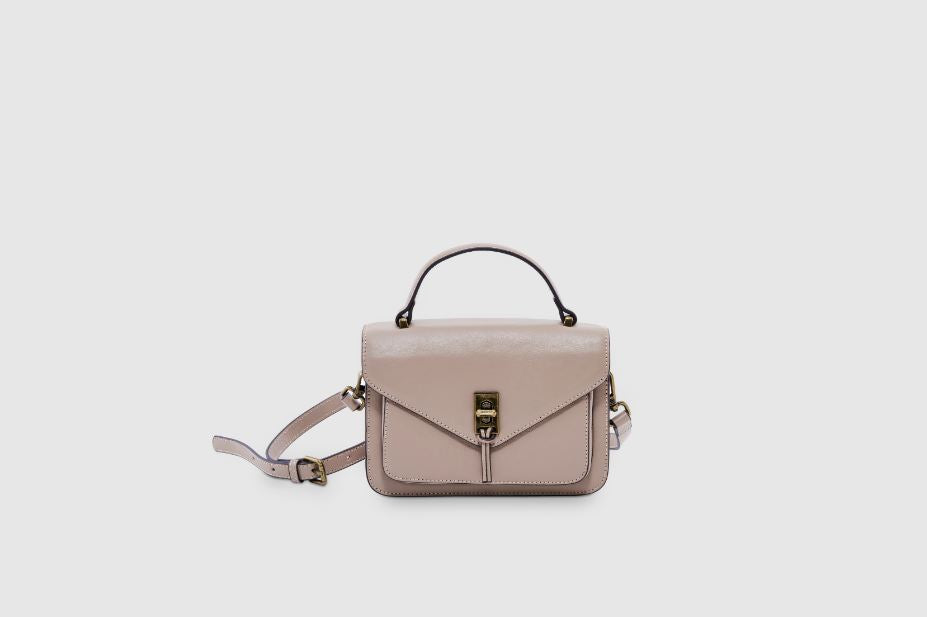 Bolvaint The Neuilly Shoulder Bag in Beige Sable