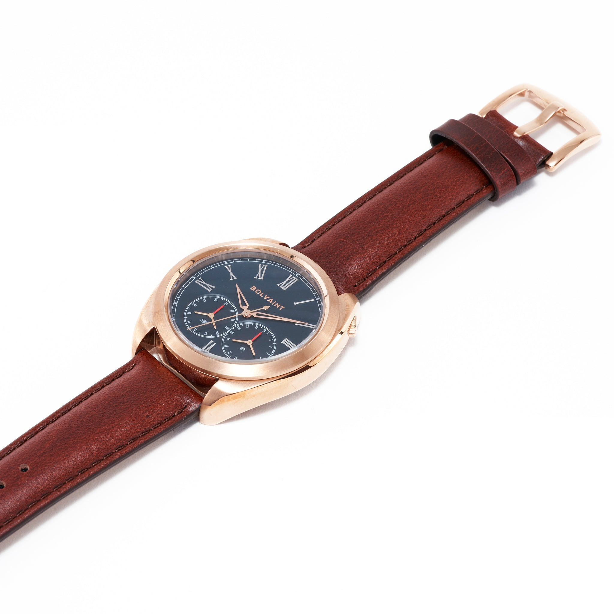 The Bolvaint Aurelius Bleu in Rose Gold