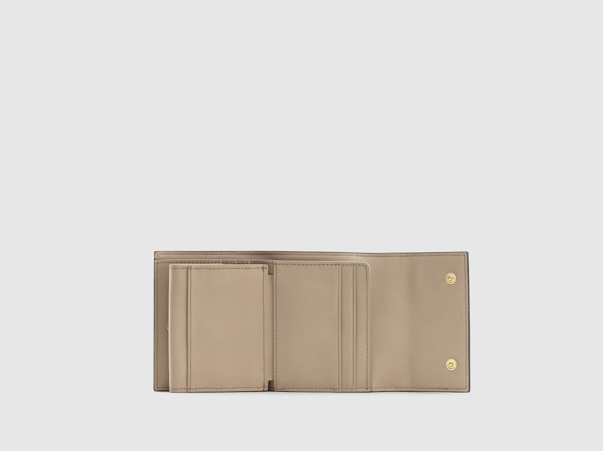 The Simone Foldover Wallet in Orchid Blue