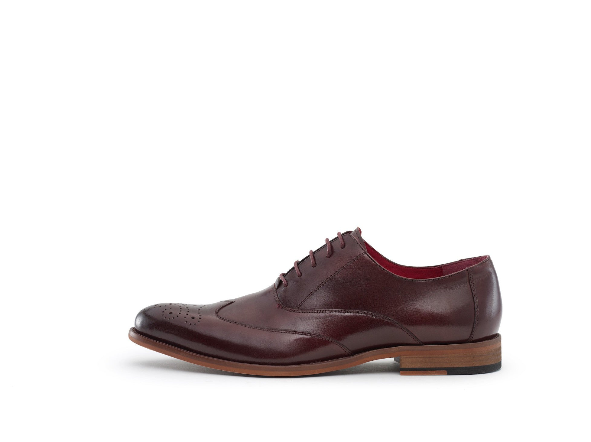 The Verrocchio Dress Shoe in Burgundy
