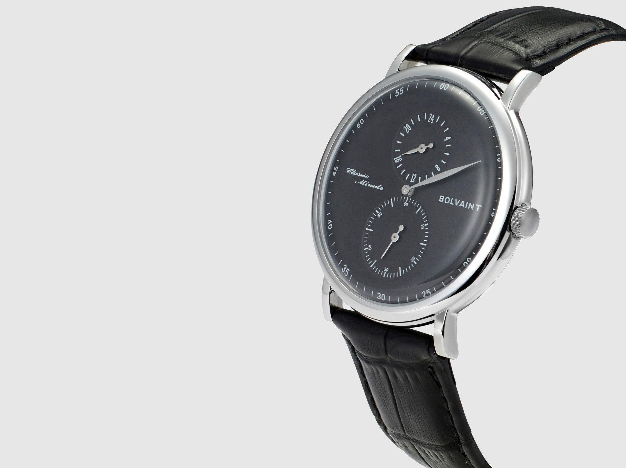The Bolvaint Eanes Classic Minute in Black